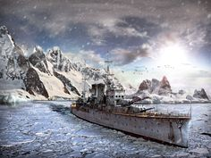 Get into the historical naval battles of the World War I & II