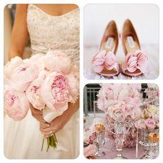 Decoración para boda color rosa claro #bodas #ideas #deco Descubre más ideas en…