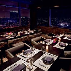 World's Best Restaurant Views: WP24; Los Angeles