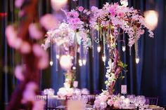 Centerpieces that are also works of art at @Waldorf Photographic Art Astoria Orlando