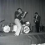 Adriano Celentano con I Ribelli - Festival del Rock, 1961 - by Carlo Riccardi - http://www.archivioriccardi.it