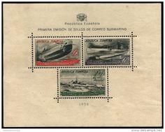 España,correo submarino