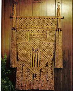macrame wall hanging patterns - Buscar con Google