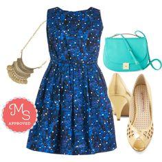 Just Be Cosmic Dress