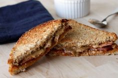 Almond Butter and Marmalade Sandwich with Turkey Bacon from The 11 Best…