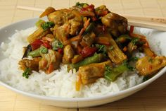 Czech Recipes, Ethnic Recipes, Kung Pao Chicken, Wok, Food Videos, Chicken Recipes, Food And Drink, Health Fitness, Menu