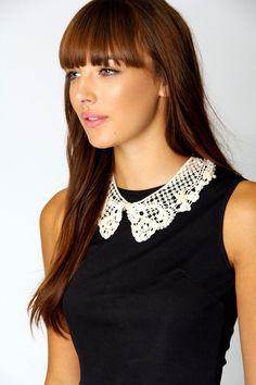 Ellie Cream Lace Embellished Collar   SO CUTE!!!