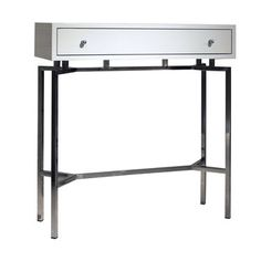 MING WHITE LACQUER CONSOLE TABLE, , hi-res