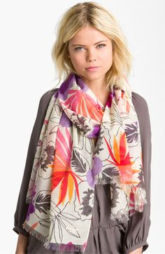 The prettiest scarf there ever was - Kate Spade New York | Nordstrom