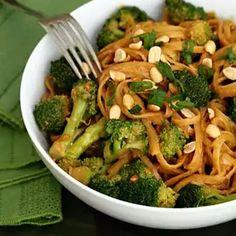 Spicy Peanuts Noodles