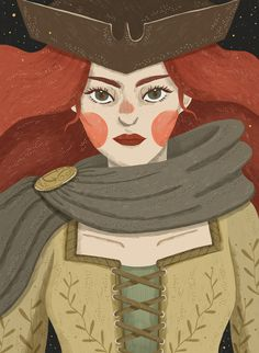 Illustrations for Good Night for Rebel Girls picture book