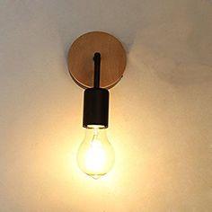 Fuloon ブラケットライト・レトロ・照明器具 アンティーク調 レトロ 壁掛け照明器具 電球別売 かっこいい !