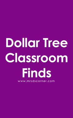 Back to school classroom resources and finds from the Dollar Tree. Get lesson ideas, see what I grabbed, and a FREEBIE.
