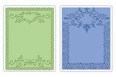Sizzix Textured Impressions - 2 Pack - Ornate Frames