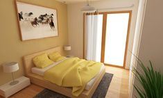 Simple fabric decorating ideas for small bedrooms http://www.jambic.com/simple-stylish-decorating-ideas-small-bedrooms/