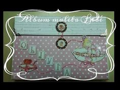 Album Maleta Bebé - YouTube Suitcase, Youtube, Album, Scrapbooking, Home Decor, Mini Albums, Christening, Tutorials, Cards