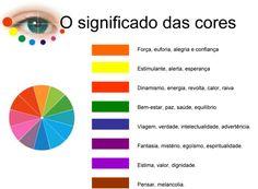 As cores têm uma grande influência psicológica sobre o ser humano. Existem cores que se apresentam como estimulantes, alegres, otimistas, ...