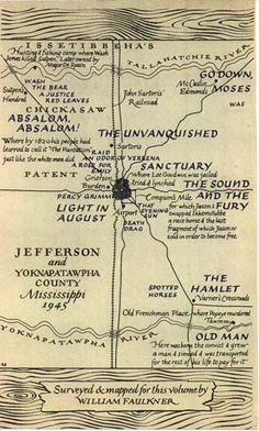 If you've ever had difficulty pronouncing the word Yoknapatawpha—the fictional Mississippi county where William Faulkner set his best-known fiction—you can take instruction from the author himself.