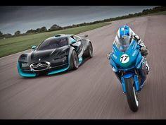 Electric car vs bike: Citroen Survolt vs Agni Z2 - YouTube