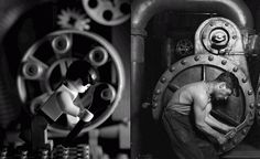 Lewis Hine Powerhouse Mechanic