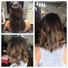 Gorgeous Long Bob (Praise) Will, Haircuts 2017 - All For Hair Color Balayage Hair Color And Cut, Haircut And Color, Ombre Hair, Balayage Hair, Blonde Sombre, Bayalage, Ash Blonde, Balayage Bob Brunette, Haircolor