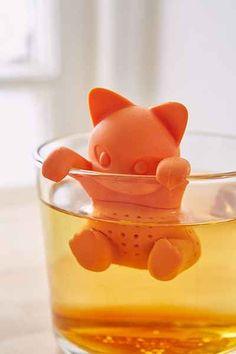 Kittea tea infuser, so cute!