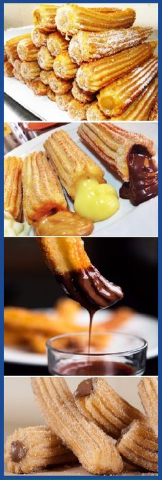 Cómo hacer Churros caseros con solo 2 ingredientes y en 5 minutos! #churros #facil #receta #recipe #casero #torta #tartas #pastel #nestlecocina #bizcocho #bizcochuelo #tasty #cocina #chocolate Mezclar bien la Harina y la Sal. Luego agregarle el agua caliente y mezclar bien quede Luego mezclar con la batidora si lo...