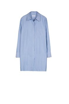 The the off-duty fashion editor look with this chic blue shirtdress and 9 other perfect pieces on wmag.com.