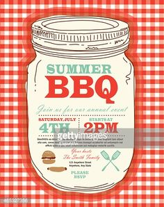 View top-quality illustrations of Canning Jar Bbq Checkered Red Tablecloth Picnic Invitation Design Template. Find premium, high-resolution illustrative art at Getty Images. Picnic Invitations, Checkered Tablecloth, Free Illustrations, Free Vector Art, Label Design, Identity Design, Magazine Design, Graphic Design Inspiration, Invitation Design
