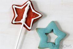 Pop star cookie pops