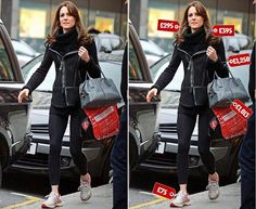 Duchess of Cambridge was photographed while shopping in Chelsea