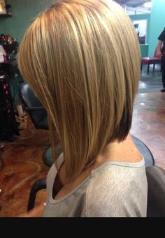wanna give your hair a new look? Long bob hairstyles is a good choice for you. Here you will find some super sexy Long bob hairstyles, Find the best one for you, Inverted Bob Hairstyles, Long Bob Haircuts, Hairstyles Haircuts, Straight Hairstyles, Stacked Haircuts, Haircut Bob, Simple Hairstyles, Haircut Styles, Pixie Haircuts