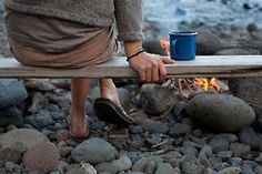 Campfire and Coffee, a Perfect Morning