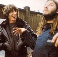 Roger Waters and David Gilmour - Pink Floyd