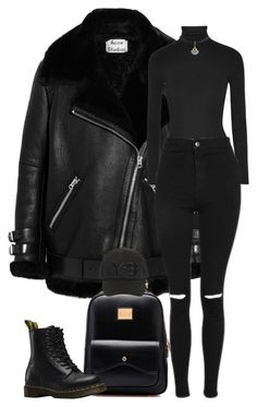 """Sans titre #14"" by girl-tour ❤ liked on Polyvore featuring Acne Studios, Michael Kors, Dr. Martens, Topshop and Y-3"