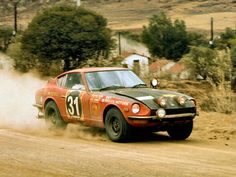 Nissan / Datsun 240Z rally car
