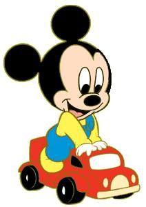 Baby Mickey Clipart - image by Hddfhm Baby Mickey, Mickey Mouse E Amigos, Mickey E Minnie Mouse, Mickey Mouse Cartoon, Mickey Mouse And Friends, Retro Disney, Cute Disney, Disney Art, Walt Disney