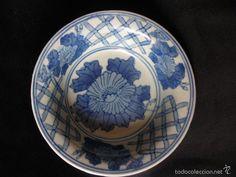 Cuenco o plato hondo de porcelana china ( vendido, sold)