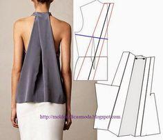 Moldes Moda por Medida: DETALHES DE MODELAÇÃO - 24