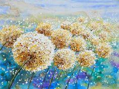 Trendykunst presenteert dit prachtige schilderij van een bloemenveld.  Olieverf schilderijen zijn met de hand geschilderd op doek.