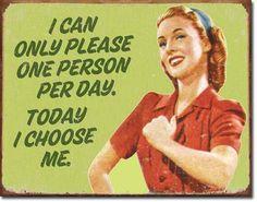 Heel belangrijk! Soms gewoon even voor jezelf kiezen...
