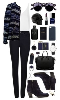 """Untitled #314"" by clary94 ❤ liked on Polyvore featuring Armani Jeans, Topshop, Zara, Acne Studios, Givenchy, Daniel Wellington, C6, D.L. & Co., Yves Saint Laurent and Calvin Klein"