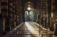 Dark Hallway, Cimitero Monumentale di #Milano