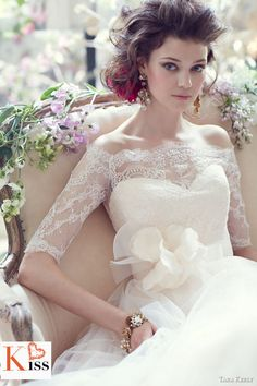 Tara Kelly   Stunning Bridal Collection 2013 #wedding #weddingdream123