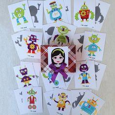 """""""Pia Polya Robotu Gölgesi ile Eşleştir""""  Oyun, Pia Polya'nın tüm çocuklara hediyesi olup, fikir mülkiyeti Hotalı Ambalaj Tasarımına aittir."""