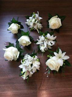 Corsages and buttonholes by www.karens-flowers.co.uk