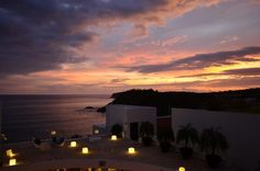 It's hard to believe that these colors in the sky at Secrets Huatulco Resort & Spa are in real life, but that's just an average night in beautiful Mexico!