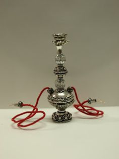 I wanted to try my hand at making hookahs for my mini marketplace scene.   There was a lot of bead and jewelry finding sorting and selectin...