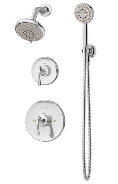 Symmons® - 5205 - Ballina™ Tub/Shower system w/Hand Shower - Chrome