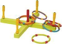 """Веселая игра """"Попади кольцом"""" (3086 (64002)) ― Детские игрушки. Интернет магазин детских игрушек Tiny Love, Fisher Price, Lego, Bright Starts,  Ks Kids, Ouaps, IM Toy, Keenway, Wader, Sylvanian Families, Tomy: детские развивающие игрушки, погремушки, мобиль. Игрушки для детей. Развивающий коврик. Фишер прайс, брайт стартс."""